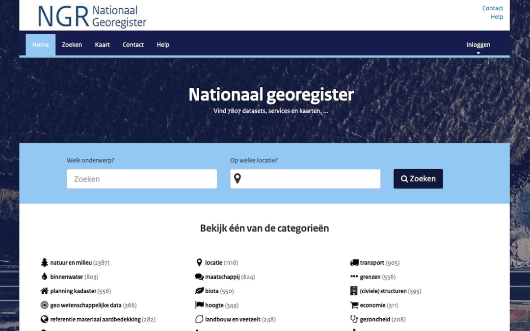 Nationaal GeoRegister (The Netherlands)