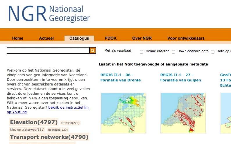 Nationaal GeoRegister (The Netherlands)
