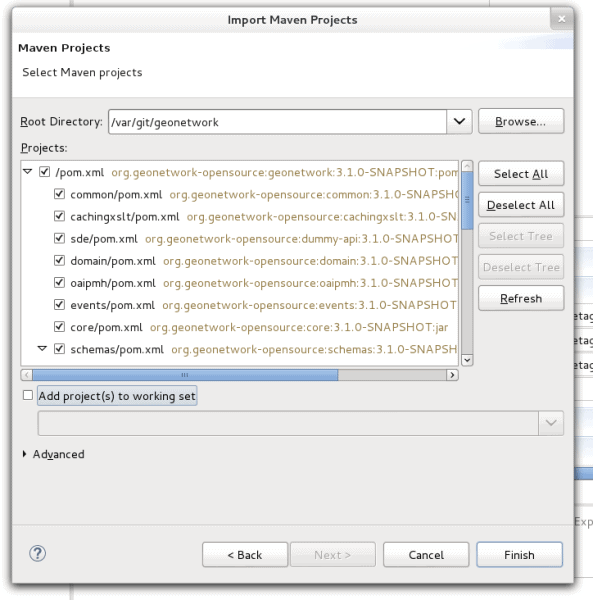 Import As Maven Project