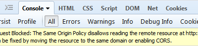 Mixed content and cross domain errors in browser-SDI