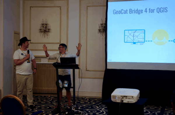foss4g 2019 bucharest geocat qgis bridge