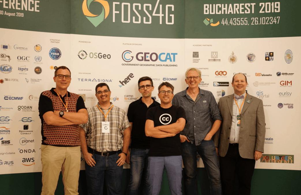 foss4g 2019 bucharest geocat team
