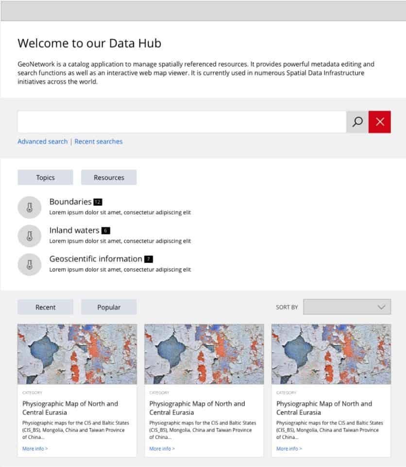 welcome to our data hub geocat bolsena 2020